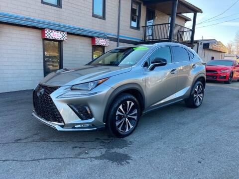 2018 Lexus NX 300 for sale at Sisson Pre-Owned in Uniontown PA