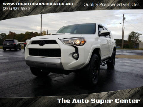 2018 Toyota 4Runner for sale at The Auto Super Center in Centre AL