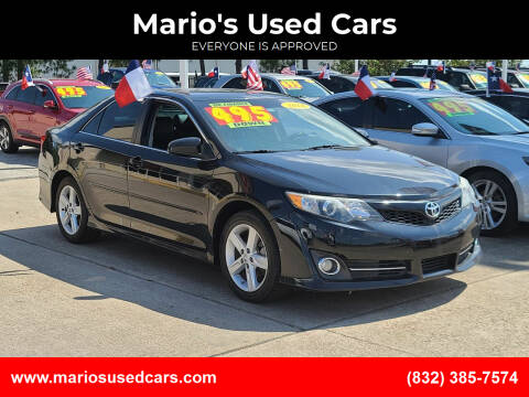 2014 Toyota Camry for sale at Mario's Used Cars in Houston TX