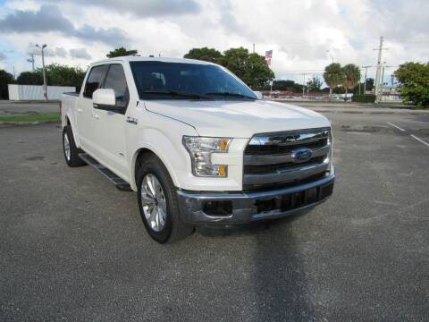 2015 Ford F-150 for sale at United Auto Center in Davie FL