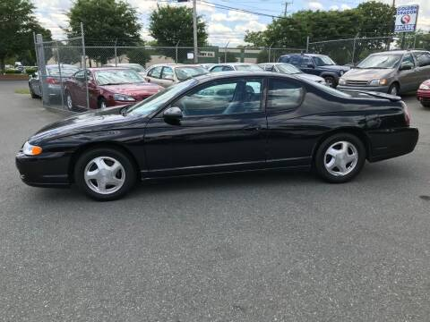 2005 Chevrolet Monte Carlo for sale at Mike's Auto Sales of Charlotte in Charlotte NC