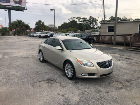 2012 Buick Regal for sale at Friendly Finance Auto Sales in Port Richey FL