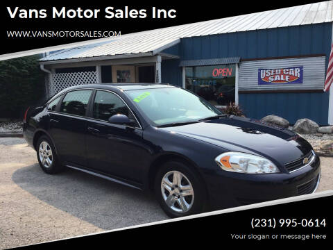 2010 Chevrolet Impala for sale at Vans Motor Sales Inc in Traverse City MI