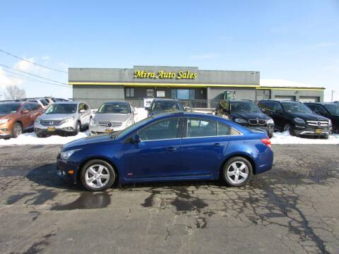 2012 Chevrolet Cruze for sale at MIRA AUTO SALES in Cincinnati OH