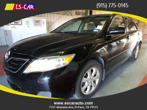 2011 Toyota Camry for sale at Escar Auto in El Paso TX