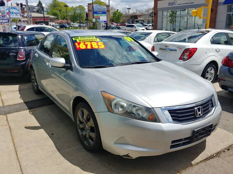2009 Honda Accord for sale at Polonia Auto Sales and Service in Hyde Park MA