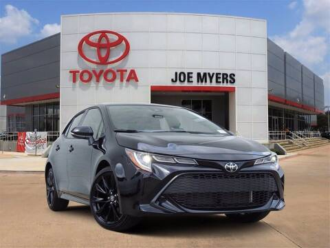 2021 Toyota Corolla Hatchback for sale at Joe Myers Toyota PreOwned in Houston TX