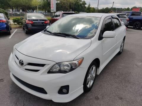 2011 Toyota Corolla for sale at Max Auto Sales in Sanford FL