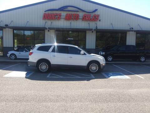 2010 Buick Enclave for sale at DOUG'S AUTO SALES INC in Pleasant View TN