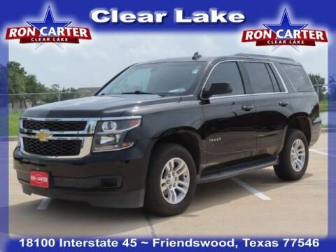 2017 Chevrolet Tahoe for sale at Ron Carter  Clear Lake Used Cars in Houston TX