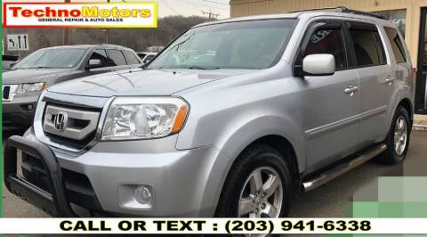 2011 Honda Pilot for sale at Techno Motors in Danbury CT