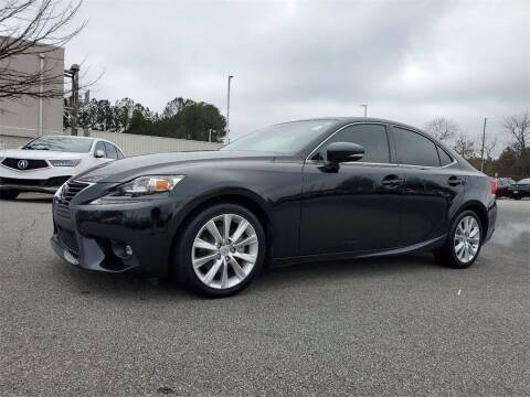2015 Lexus IS 250 for sale at Southern Auto Solutions - Acura Carland in Marietta GA