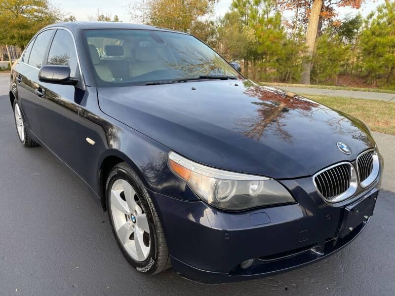 2007 BMW 5 Series for sale at LA 12 Motors in Durham NC