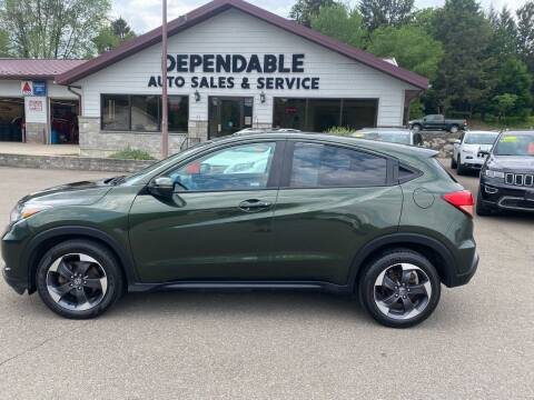 2018 Honda HR-V for sale at Dependable Auto Sales and Service in Binghamton NY