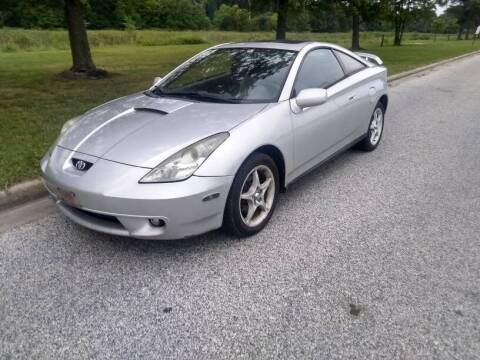 2000 Toyota Celica for sale at Laurel Wholesale Motors in Laurel MD