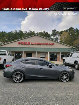 2016 Mazda MAZDA3 for sale at Poole Automotive in Laurinburg NC