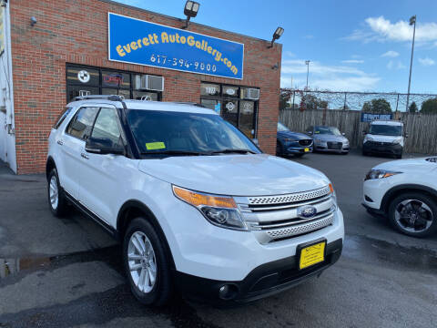 2015 Ford Explorer for sale at Everett Auto Gallery in Everett MA