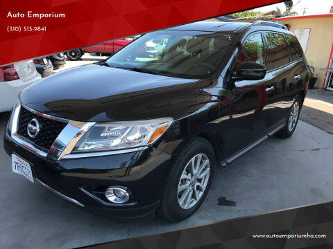 2016 Nissan Pathfinder for sale at Auto Emporium in Wilmington CA