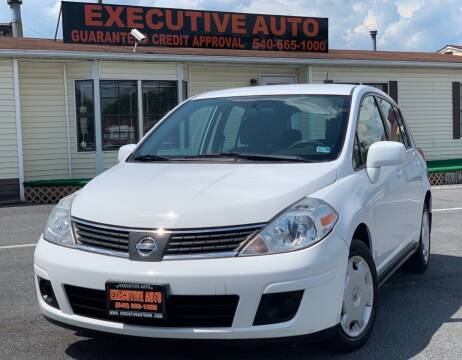 2009 Nissan Versa for sale at Executive Auto in Winchester VA