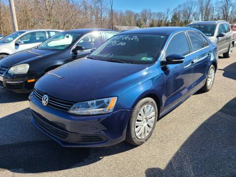 2013 Volkswagen Jetta for sale at ULRICH SALES & SVC in Mohnton PA