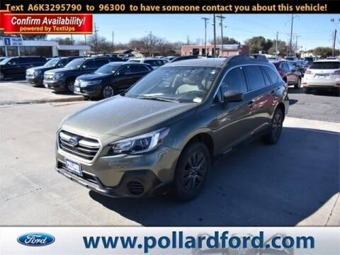 2019 Subaru Outback for sale at South Plains Autoplex by RANDY BUCHANAN in Lubbock TX