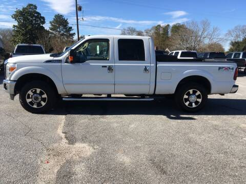 2011 Ford F-250 Super Duty for sale at TAVERN MOTORS in Laurens SC