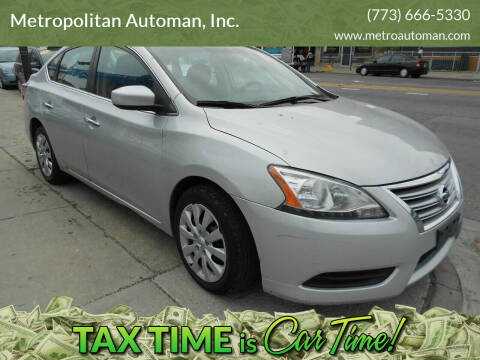 2013 Nissan Sentra for sale at Metropolitan Automan, Inc. in Chicago IL