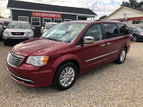2012 Chrysler Town and Country for sale at Y City Auto Group in Zanesville OH