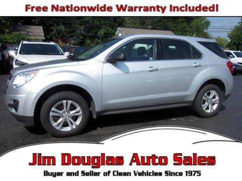 2010 Chevrolet Equinox for sale at Jim Douglas Auto Sales in Pontiac MI