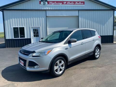 2014 Ford Escape for sale at Highway 9 Auto Sales - Visit us at usnine.com in Ponca NE