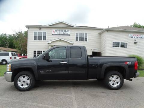 2012 Chevrolet Silverado 1500 for sale at SOUTHERN SELECT AUTO SALES in Medina OH
