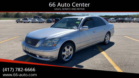 2005 Lexus LS 430 for sale at 66 Auto Center in Joplin MO