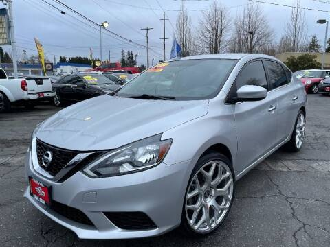 2017 Nissan Sentra for sale at Real Deal Cars in Everett WA