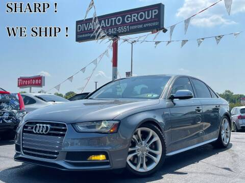 2015 Audi S4 for sale at Divan Auto Group in Feasterville Trevose PA