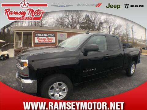 2018 Chevrolet Silverado 1500 for sale at RAMSEY MOTOR CO in Harrison AR
