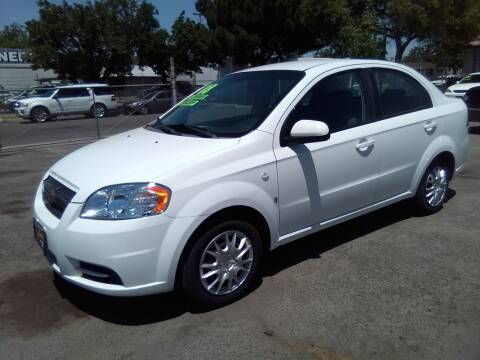 2008 Chevrolet Aveo for sale at Larry's Auto Sales Inc. in Fresno CA