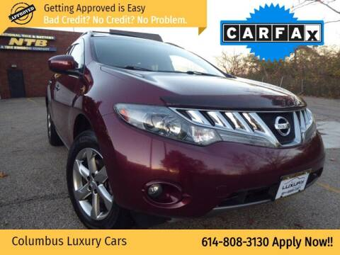 2010 Nissan Murano for sale at Columbus Luxury Cars in Columbus OH