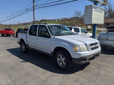 2003 Ford Explorer Sport Trac for sale at Route 22 Autos in Zanesville OH