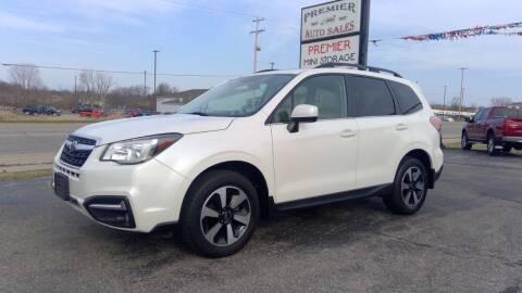 2018 Subaru Forester for sale at Premier Auto Sales Inc. in Big Rapids MI