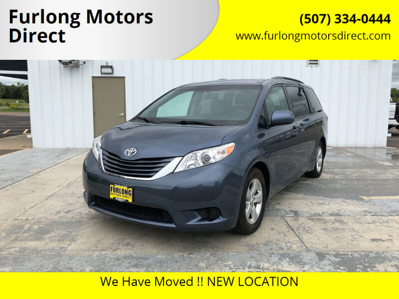 2015 Toyota Sienna for sale at Furlong Motors Direct in Faribault MN