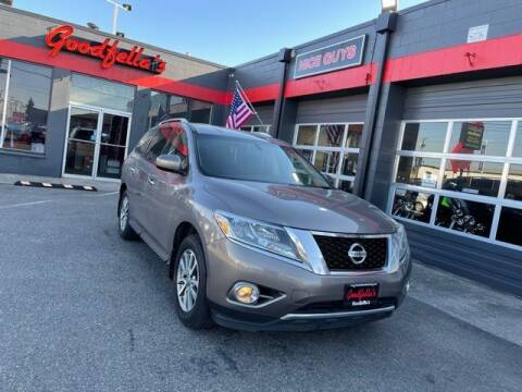2013 Nissan Pathfinder for sale at Goodfella's  Motor Company in Tacoma WA
