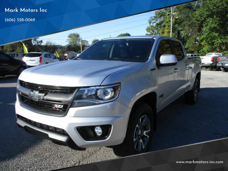2017 Chevrolet Colorado for sale at Mark Motors Inc in Gray KY