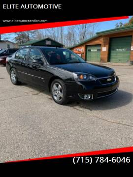 2006 Chevrolet Malibu for sale at ELITE AUTOMOTIVE in Crandon WI