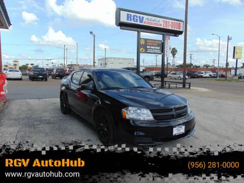2014 Dodge Avenger for sale at RGV AutoHub in Harlingen TX