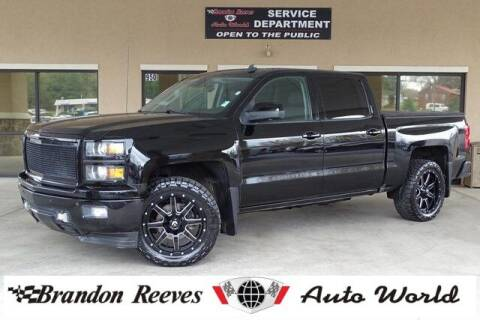 2014 Chevrolet Silverado 1500 for sale at Brandon Reeves Auto World in Monroe NC