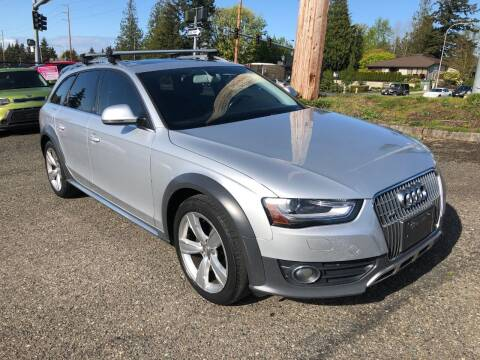 2013 Audi Allroad for sale at KARMA AUTO SALES in Federal Way WA