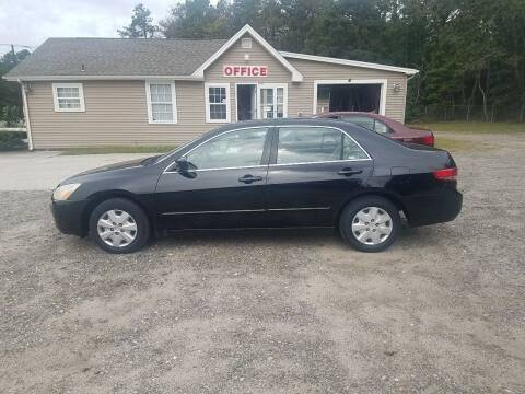 2003 Honda Accord for sale at MIKE B CARS LTD in Hammonton NJ