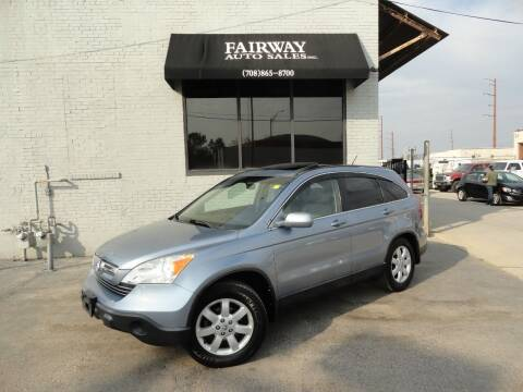 2007 Honda CR-V for sale at FAIRWAY AUTO SALES, INC. in Melrose Park IL