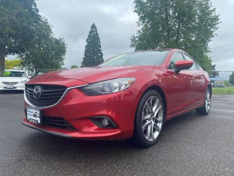 2015 Mazda MAZDA6 for sale at Pacific Auto LLC in Woodburn OR