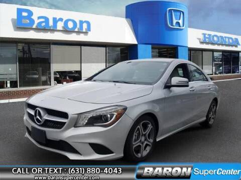 2014 Mercedes-Benz CLA for sale at Baron Super Center in Patchogue NY